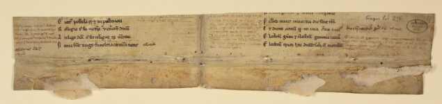 Rückseite des ersten Doppelblatts