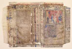 412-1: Vorderseite des Fragments
