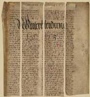 Rekonstruktion des Ursprungsblatts